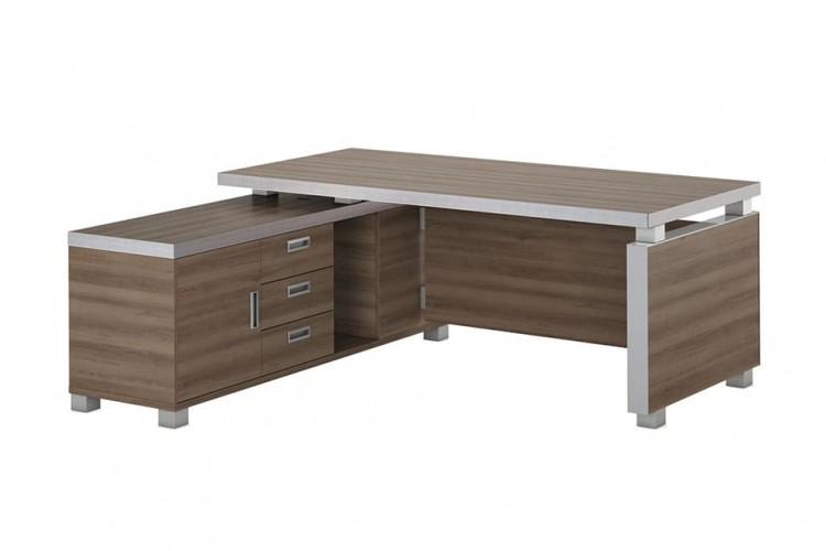 Фото угловых столов для кабинета